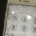 iPhone7 液晶圧迫