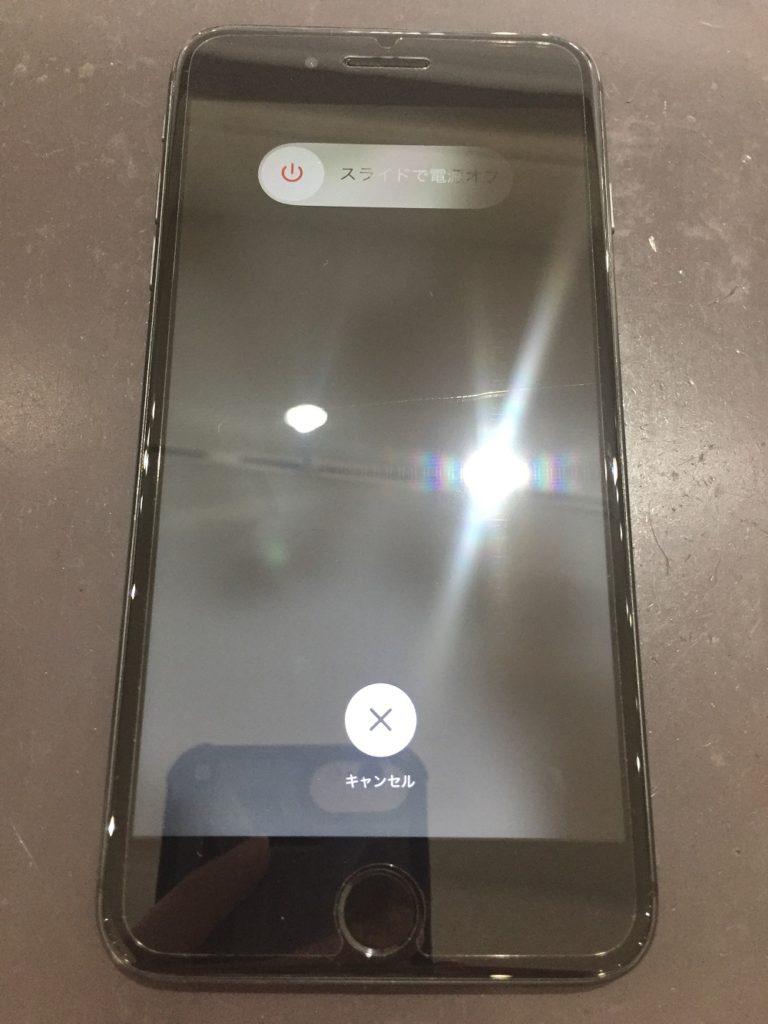 iPhone8PLUS 画面割れ 修理後