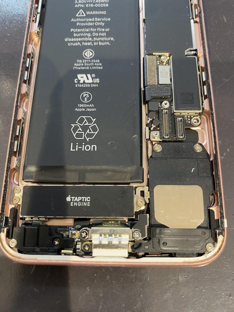 iPhoneドックコネクター交換作業