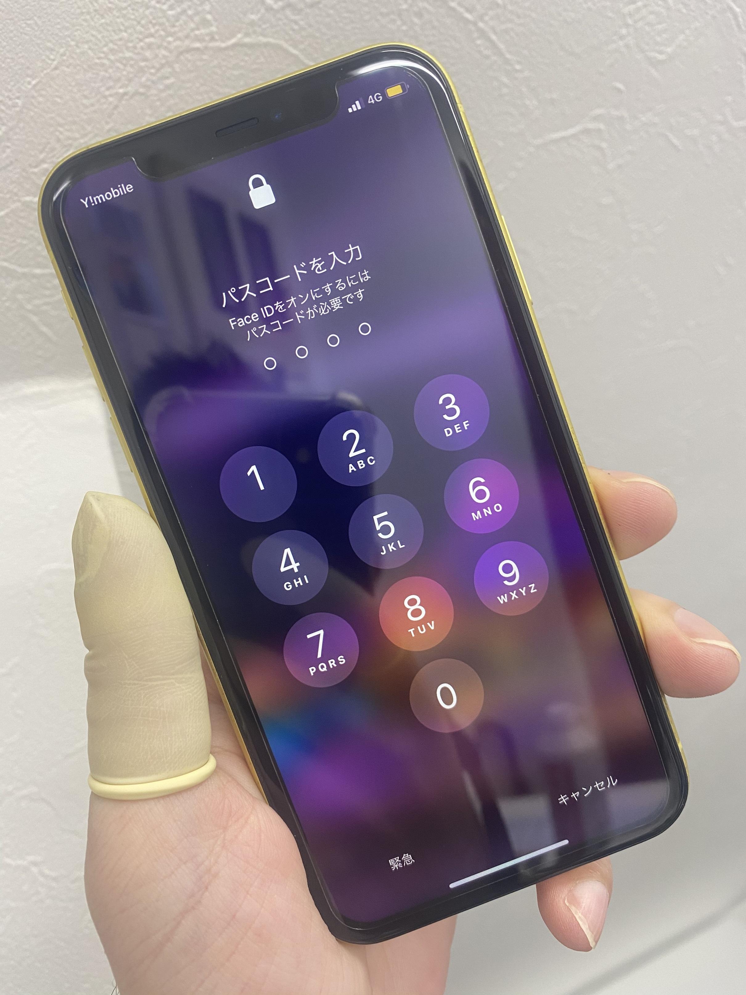 iPhone11画面修理後