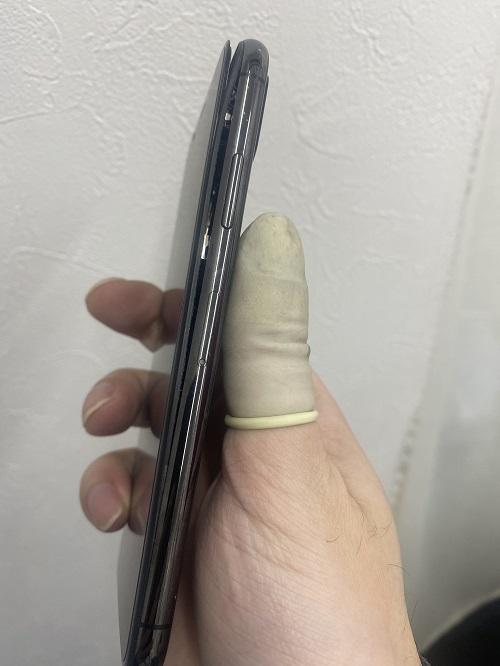 iPhoneXに隙間!?
