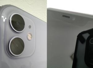 水没処置によってカメラの曇りが消えたiPhone11画像