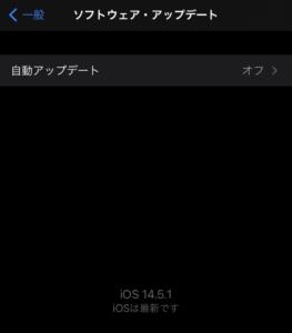iPhone iOS14.5.1