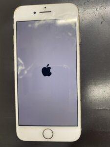 リンゴの画面から起動しないiPhone
