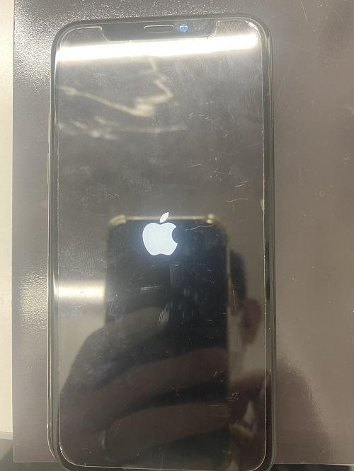 iPhoneXリンゴループ