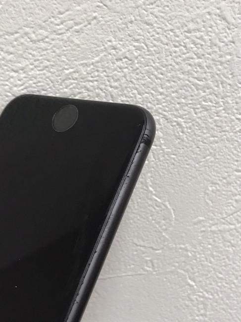 iPhone7から漏れ出すデロデロ