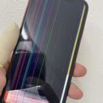 iPhone11の画面が真っ黒!?縦の線!?画面の修理を渋谷で!